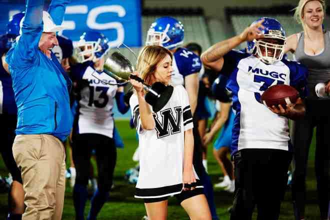 Alison W football