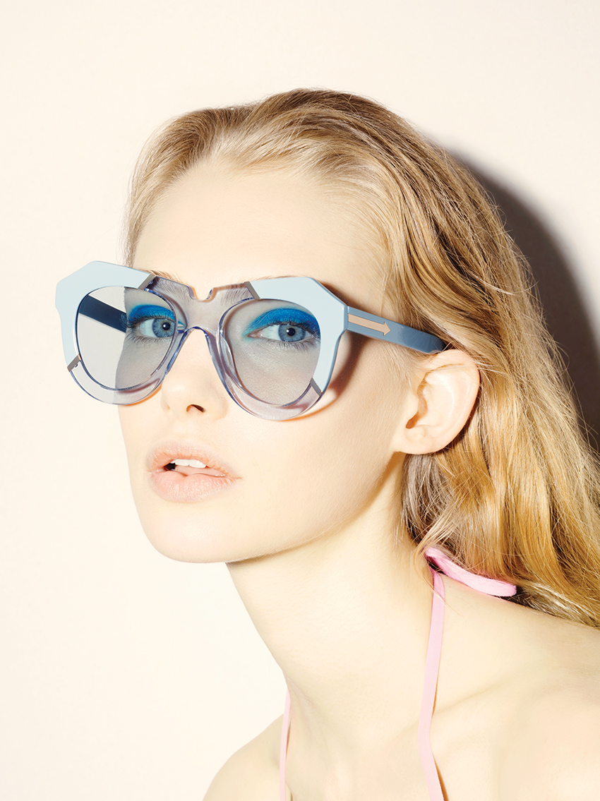 eb37138b7768 Karen Walker Eyewear: Resort 2015 Poolside Collection – The Garb Wire