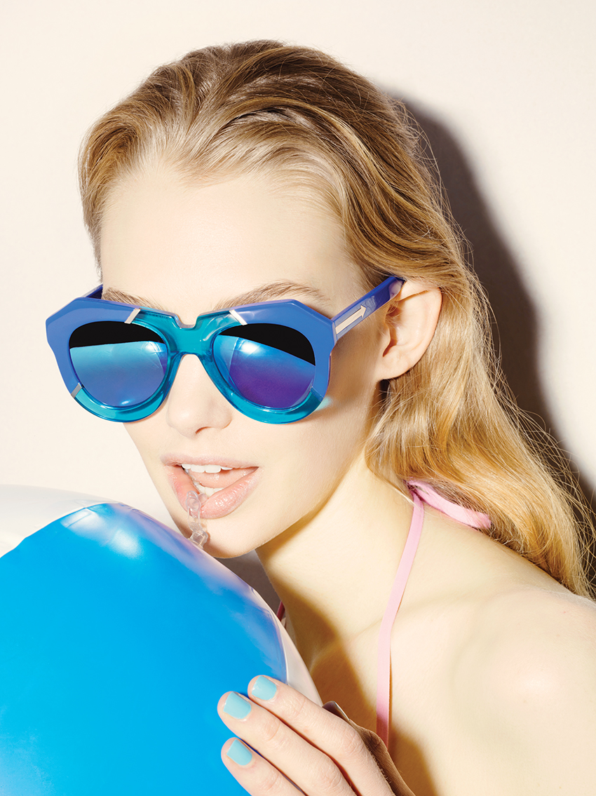 a7f85ab03223 Karen Walker Eyewear  Resort 2015 Poolside Collection – The Garb Wire