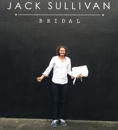 Brisbane bridal couturier Jack Sullivan