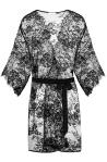Porte A Vie, NATALIJA Black Robe, $164.95, www.porteavie.com
