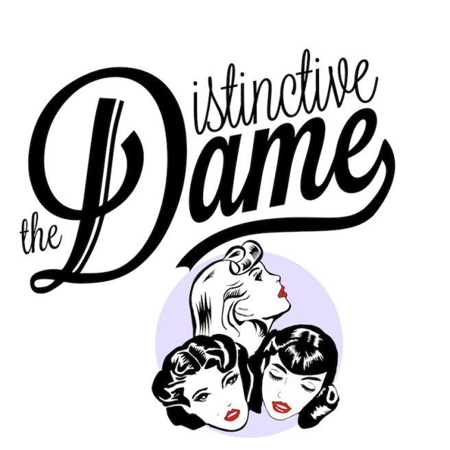 The Distinctive Dame Logo