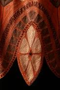 Lanvin, Paris fashion house France est. 1909 Jeanne Lanvin designer 1867–1946 Evening cape (detail) c. 1925 silk (velvet, thread, satin), glass (beads), jet (beads) The Dominique Sirop Collection National Gallery of Victoria, Melbourne