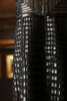 Lanvin, Paris fashion house France est. 1909 Jeanne Lanvin designer 1867–1946 Evening dress (detail) c. 1925 silk (chiffon, ribbon) The Dominique Sirop Collection National Gallery of Victoria, Melbourne