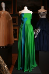 Grès, Paris fashion house France 1942–1988 Madame Grès designer France 1903–1993 Dress 1985 autumn–winter silk (jersey) The Dominique Sirop Collection National Gallery of Victoria, Melbourne