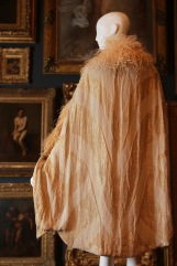 Callot Soeurs, Paris fashion house France 1895–1937 Marie Callot Gerber designer France c. 1870–1927 Evening cape 1928 silk (satin, velvet, brocade), metallic thread, feathers The Dominique Sirop Collection National Gallery of Victoria, Melbourne