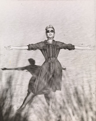 Henry Talbot. No title (Fashion illustration, model Janice Wakely) 1961