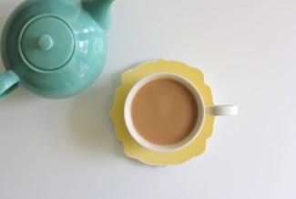 Teamattina tea tastings - a little cup of Italy
