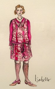 Costume design for Hugo. Photo by The Garb Wire