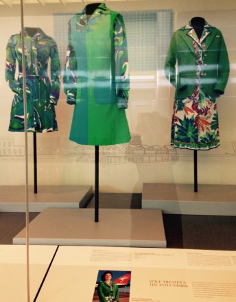 Pucci designed Qantas air hostess uniforms