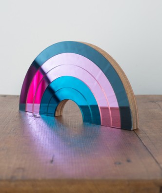 Rainbow mirror by Bride and Wolfe