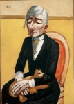 7. Max Beckmann in New York_Beckmann_The Old Actress_Private Collection New York