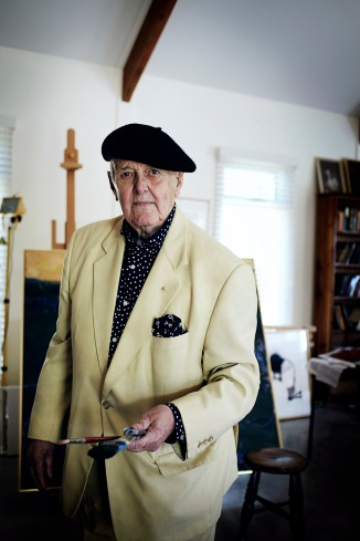 Portrait of John Olsen by Hugh Stewart © Hugh Stewart