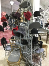 Superb visual merchandising at Dover Street Market,