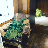 Mens fitting room decor