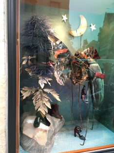 Hermes Christmas windows