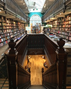 Inside Daunt Books, London.
