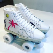 Saint Laurent roller skates