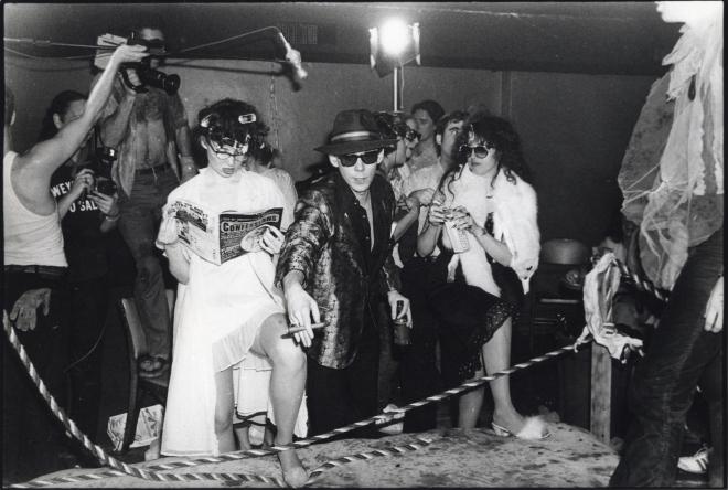 Lady Wrestling Night, Club 57, 1980