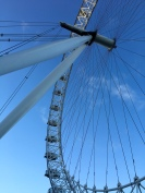 The London Eye. Obviously. I thought it was going to swallow me up and teleport me to E.T. land