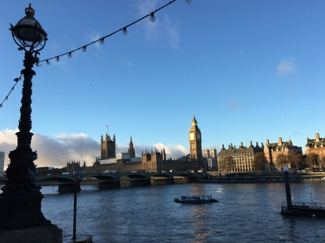 The view from Southbank