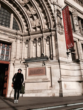 Outside V&A