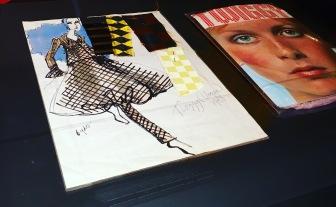 Fashion illustrations for Twiggy fashions