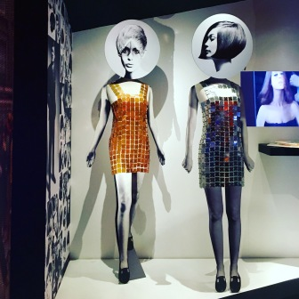 Twiggy dresses. Far out.
