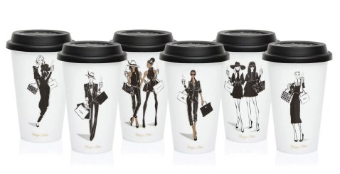 Megan Hess' Kingdom and Coffee Girl Collections continue to attract attention from overseas