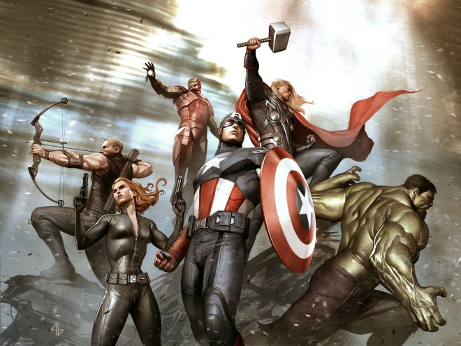 Marvel Adi Granov Keyframe for The Avengers