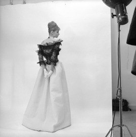 Cecil Beaton (1904 – 1980) Evening dress, Cristóbal Balenciaga, Paris, 1962 Photograph, 1971 © Cecil Beaton Studio Archive at Sotheby's