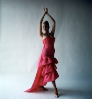Cecil Beaton (1904 – 1980) Flamenco-style evening dress, Cristóbal Balenciaga, Paris, 1961 Photograph, 1971 © Cecil Beaton Studio Archive at Sotheby's