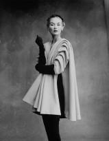 Irving Penn (1917 – 2009) Lisa Fonssagrives-Penn wearing coat by Cristóbal Balenciaga, Paris, 1950 © Condé Nast / Irving Penn Foundation