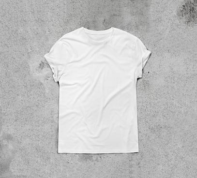 White T-shirt. Image courtesy Shutterstock/SFIO CRACHO