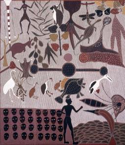Jack Wunuwun Murrungun/Djinang people Banumbirr Manikay – (Morning Star song cycle) 1988 Janet Holmes à Court Collection