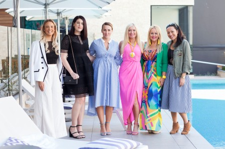 The bloggers of Brisbane attended the post Next Hotel Next Gen runway luncheon on Wednesday.