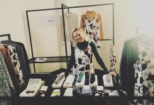 We bumped in to beautiful Ema of Hew Clothing at the CTF Curated pop up.