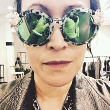 Maude Studio sunglasses. Essentially ostentatious.
