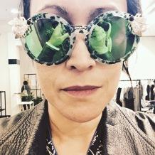 Maude Studio sunglasses. Essentially ostentatious.