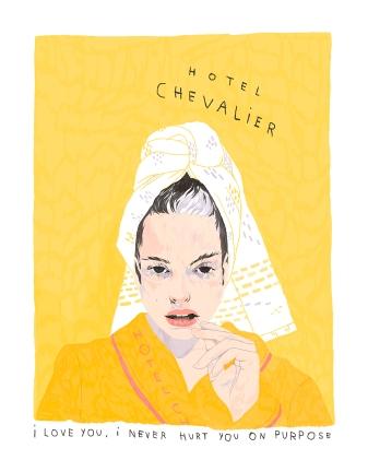 """BAD DADS VIII Ivonna Buenrostro """"Hotel Chevalier"""""""