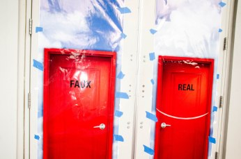 Backstage: MAISON the FAUX 'the PREMIERE' LAFW. Photo by David Vassalli
