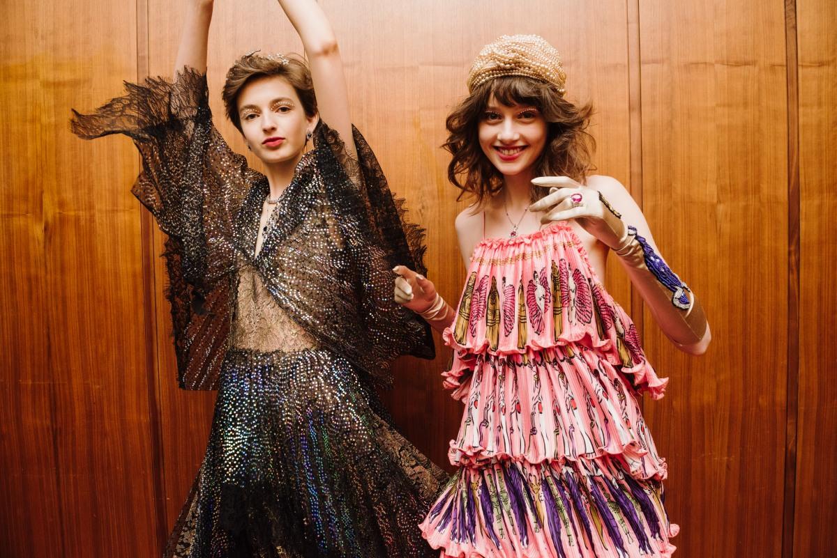MBFWA: backstage moves at Romance Was Born