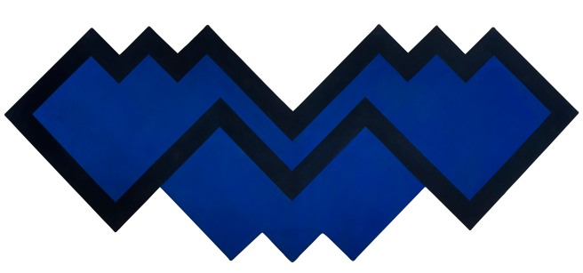 Michael Johnson Chomp 1966 polyvinyl acetate on canvas122.0 x 305.5 cmPrivate collection, Brisbane