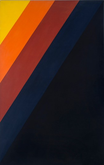 David Aspden Field 11968 synthetic polymer paint on canvas 245.0 x 152.5 cmPrivatecollection, Brisbane© David Aspen