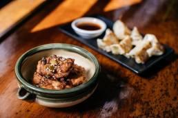 Dumplings and massage Horse Bazaar, Melbourne