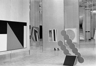 Installation view ofThe Field, National Gallery of Victoria, 1968