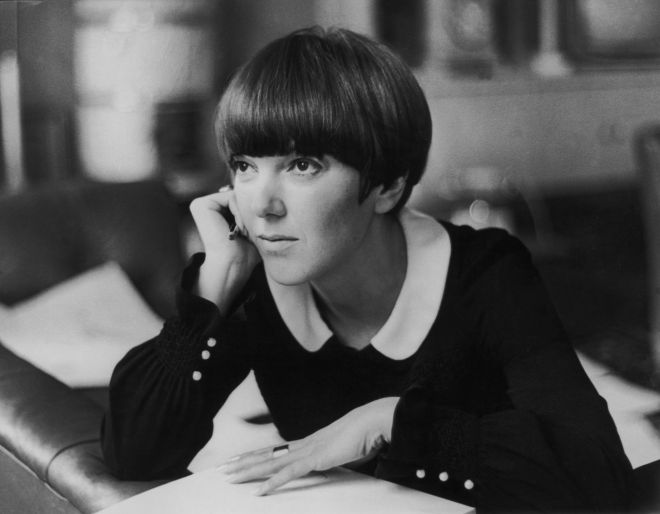Fashion : Portrait Of Mary Quant Around 1967