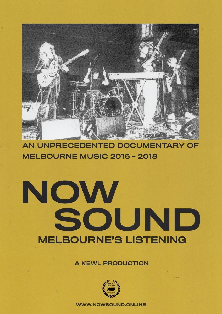 NOW SOUND: Melbourne's Listening to premiere at Melbourne International Film Festival