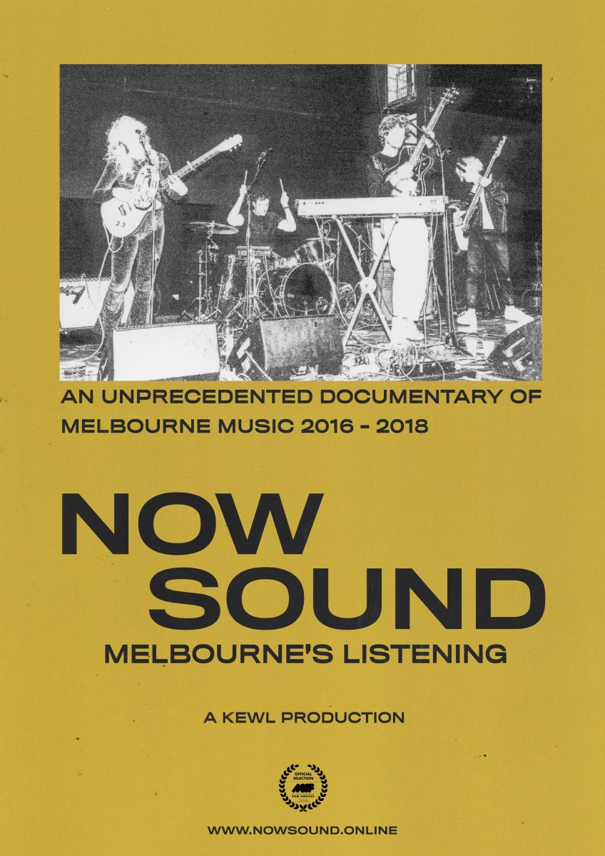 NOW SOUND: Melbourne's Listening to premiere at Melbourne International Film Festival