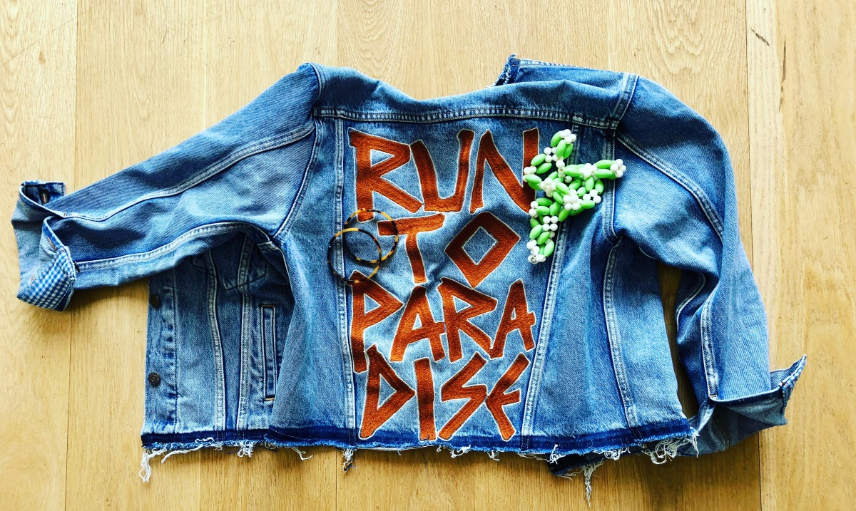 Run To Paradise: designing my custom Levi's jacket